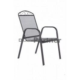 Zahradní židle - Deokork - Grey černá (kov)