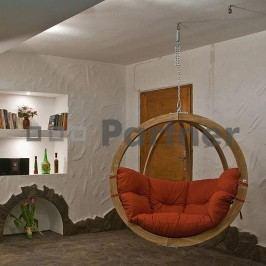 Závěsné houpací křeslo - Deokork - Zita terakotta
