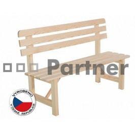 Záhradní lavička - Deokork - Borovice masiv 01
