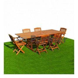 Zahradní nábytek - Deokork - Acapulco 1+6 (Akácie)