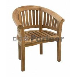 Zahradní židle - Deokork - Omega (Teak)