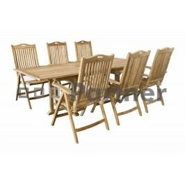 Zahradní nábytek - Deokork - Miami IV (Teak)