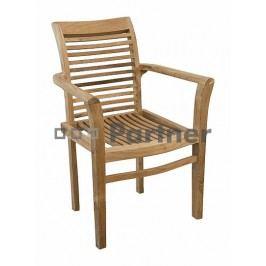 Zahradní židle - Deokork - New (Teak)
