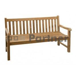 Zahradní lavička - Deokork - Roma 150 (Teak)