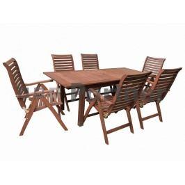 Zahradní nábytek - Deokork - Sydney 1+4 (Meranti)