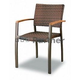Zahradní židle - Deokork - C88012-WK (Kov)