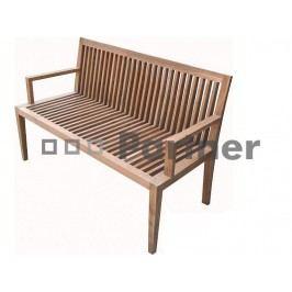 Zahradní lavička - Deokork - Wells (Teak)