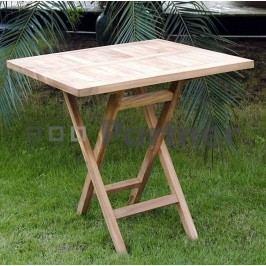 Zahradní stůl - Deokork - Illa (Teak)