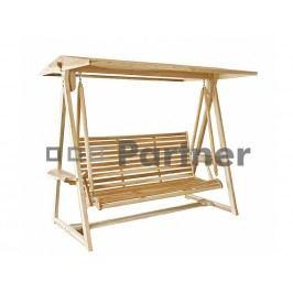 Zahradní houpačka - Deokork - Palma swing (Teak)
