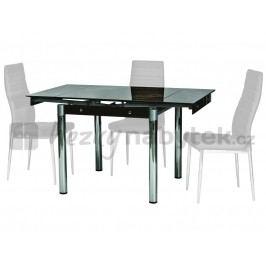 Jídelní stůl - Signal - GD-082 hnědý (pro 4 osoby)