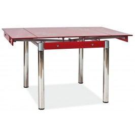 Jídelní stůl - Signal - GD-082 červený (pro 4 osoby)