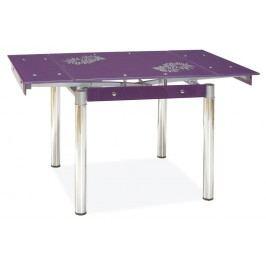 Jídelní stůl - Signal - GD-082 fialový (pro 4 osoby)