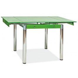 Jídelní stůl - Signal - GD-082 zelený (pro 4 osoby)