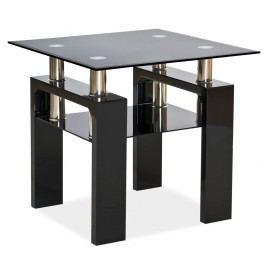 Konferenční stolek - Signal - Lisa D (černý)