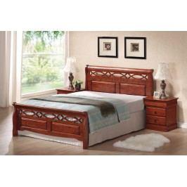 Manželská postel 160 cm - Signal - Genewa A (s roštem)