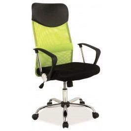 Kancelářska židle - Signal - Q-025 zelená + černá