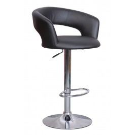 Barová židle - Signal - C-328 Krokus černá