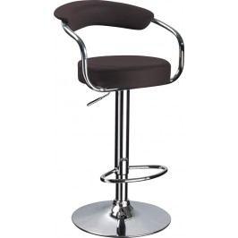 Barová židle - Signal - C-231 Krokus tmavě hnědá
