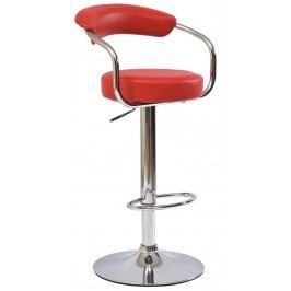 Barová židle - Signal - C-231 Krokus červená