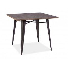 Jídelní stůl - Signal - Almir (orech + grafit) (pro 4 osoby)