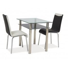 Jídelní stůl - Signal - Madras 120x75 (chróm) (pro 4 osoby)