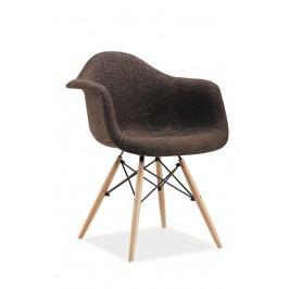 Jídelní židle - Signal - Bono (hnědá)