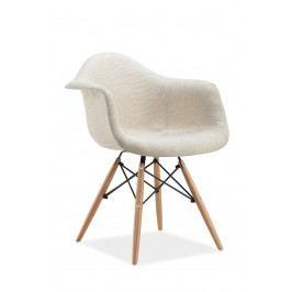 Jídelní židle - Signal - Bono (krémová)