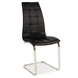 Jídelní židle - Signal - H-103 (ekokůže černá)