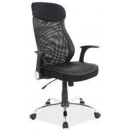 Kancelářské křeslo - Signal - Q-120 (ekokůže černá)