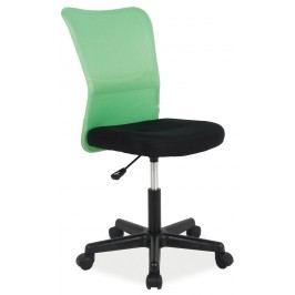Kancelářské křeslo - Signal - Q-121 (zelená + černá)