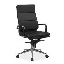 Kancelářské křeslo - Signal - Q-153 (ekokůže černá)