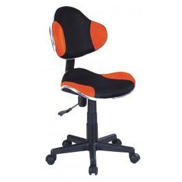 Kancelářské křeslo - Signal - Q-G2 (oranžová + černá)