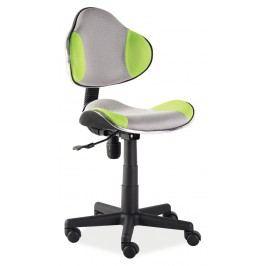 Kancelářské křeslo - Signal - Q-G2 (zelená + šedá)