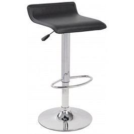 Barová židle - Signal - A-044 (ekokůže černá)