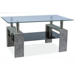 Konferenční stolek - Signal - Lisa II (šedý kámen)