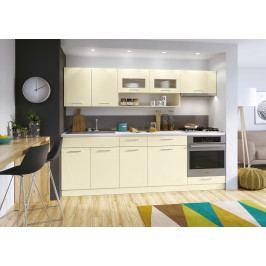Kuchyň Diamant 240 cm (vanilka)