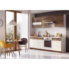 Kuchyň Maira 240 cm (akácie)