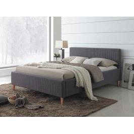 Manželská postel 160 cm - Signal - Seul (s roštem)