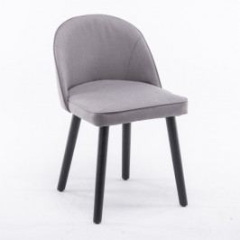 Jídelní židle Lalima (šedohnědá)