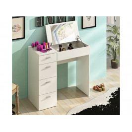 Toaletní stolek Belina (bílá)