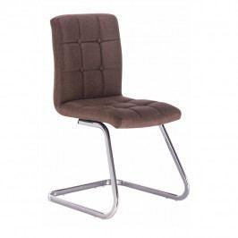 Jídelní židle Lavinia (hnědá)