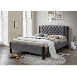 Manželská postel 160 cm Karola (s roštem)