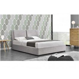 Manželská postel 160 cm Gulia (s roštem)