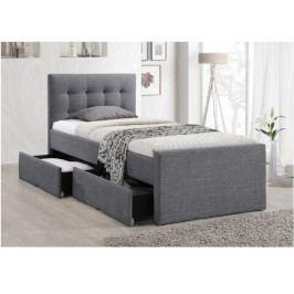 Patrová postel 90 cm Viska (s roštem)