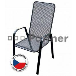 Zahradní židle Sága vysoká (kov)