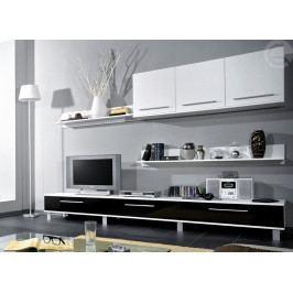 Obývací stěna Monica (černá)