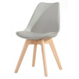 Jídelní židle Cross (šedá)
