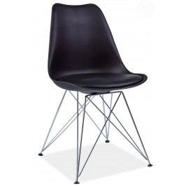 Jídelní židle Tim (černá)