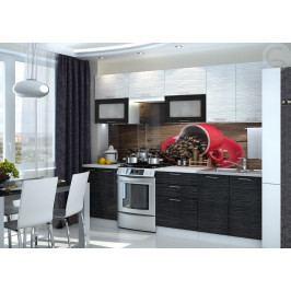 Kuchyně 260 cm Valeria (černá)