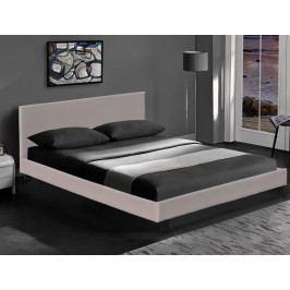 Manželská postel 160 cm Pago (capuccino) (s roštem)